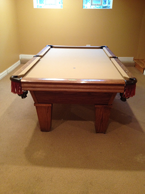 Kasson Billiard Gentry Pool Table (SOLD), D. JABUREK BILLIARDS
