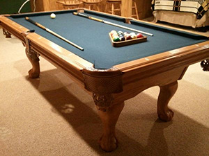 Pool Table Chicago Used Slate Pool Tables Chicago - American heritage oak pool table