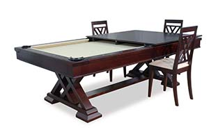 Pool Table Chicago Used Slate Pool Tables Chicago - 7 foot pool table dining top