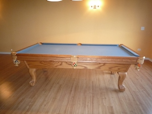 D. JABUREK BILLIARDS 1. Furniture Style Pool Table ...